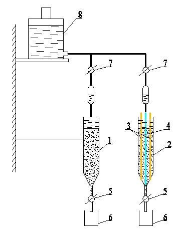 Установка для определения эффективности электрохимического фильтра изображение